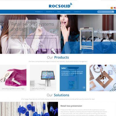 RocSolid电子标签产品网站
